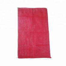 Dapoly customize all colors firewood mesh bag with drawstring firewood onion pp mesh bags