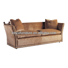 European vintage style wing arm living room sofa XY0953