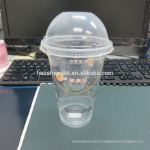 Hot Sale Cheap Plastic Clear 12oz Disposable Cup with Lid Plastic