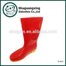Hochwertige Gummistiefel neue Männer Mode Stiefel PVC Mannes Regen Stiefel B-803