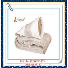 Non Alkali Fiberglass alta temperatura filtro de poeira saco com PTFE expandido para planta de cimento