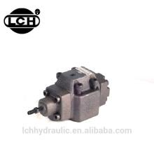 yuken pressure differential remote manual control hydraulic control valve