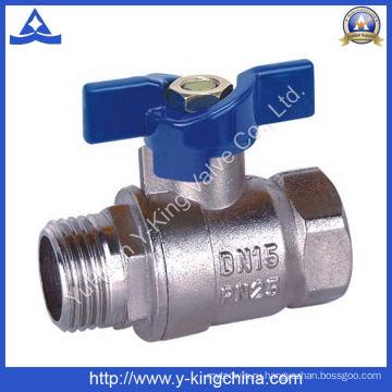 Заводская цена водяного клапана из латуни (YD-1011)
