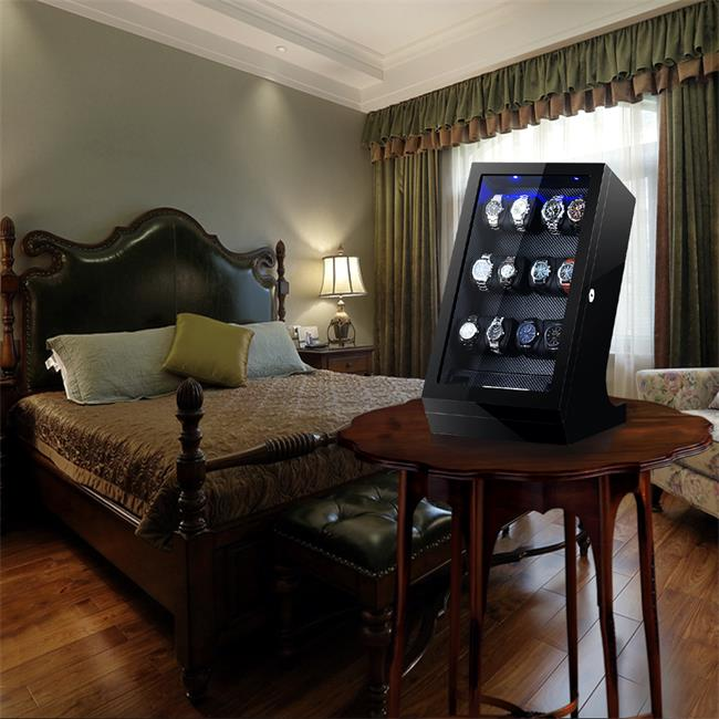 watch winder in bedroom