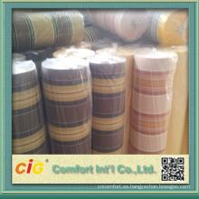 tela fuerte prueba de agua y firmeza de color de tela telas para clientes sillas de puerta