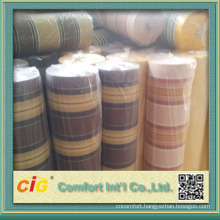 water proof strong fabric and color fastness of canvas fabrics for out door chairs