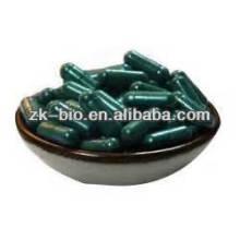 Cápsula de polvo de espirulina de calidad orgánica