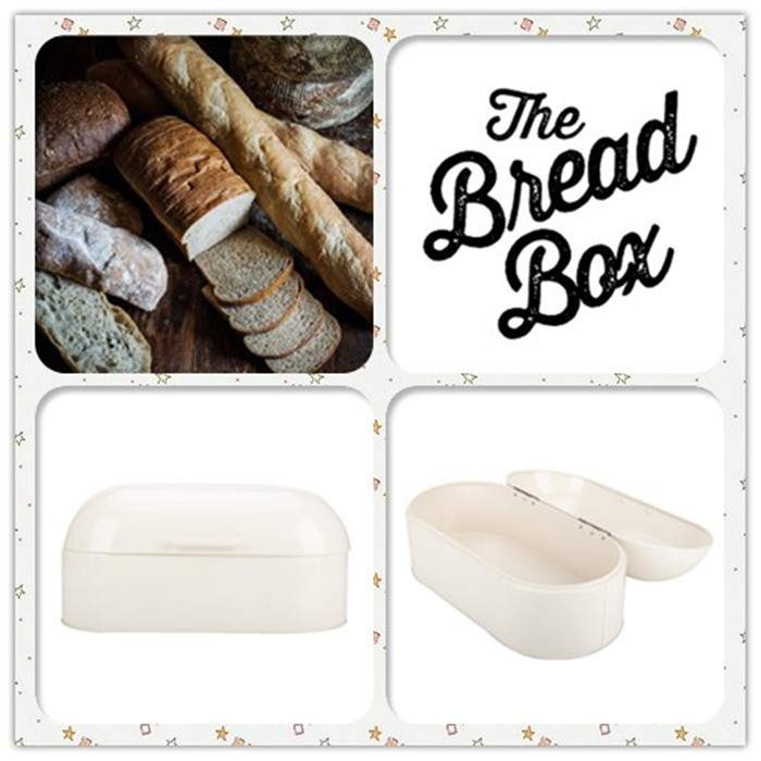 Kitchen Metal Bread Storage Box