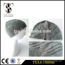 Ligero peso estilo europeo sombrero de invierno de punto de las mujeres beanies invierno producto de garantía comercial