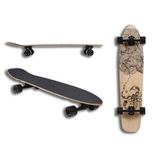 Canadian Maple Longboard (LCB-66)