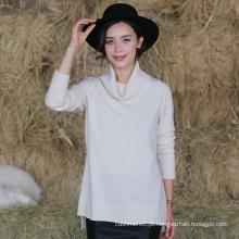 Moda Feminina, Novo Design De Suéter De Cashmere