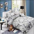Soft Printed Duvet Cover Bed Sheet Bedding Set