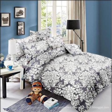Soft Printed Bettbezug Bettlaken Bettwäsche Set