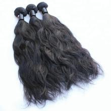 100g par faisceaux naturel noir couleur Weave Bundles cheveux indiens naturel vague en vrac cheveux