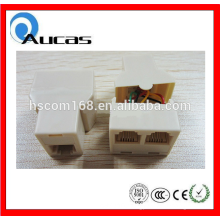 Punctual delivery adapter rj11 to jack connector adaptor