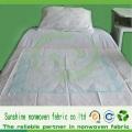 Tissu non tissé PP Spunbond perforé pour feuille de lit