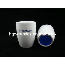 Лазерная выгравированная керамическая кружка, без ручки, кружка кофе