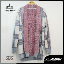 Femmes Casual épais tricoté pull