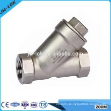 Válvula de filtro de tipo Y de aço inoxidável