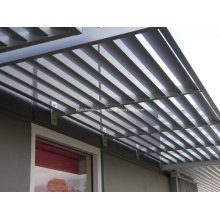 Солнцезащитные анодированные алюминиевые солнечные оттенки