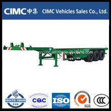 Cimc 40FT Container Gooseneck Skeleton Chassis Remolque