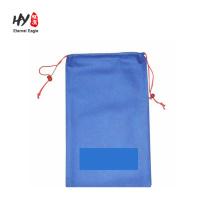 promotional logo printed cheap non woven drawstring bag