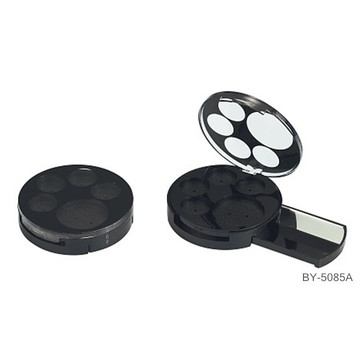 Round 5  Color Black Eyeshadow Container
