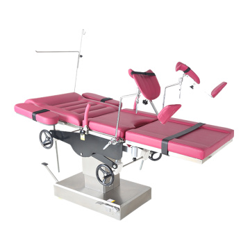 Silla de ginecología obstétrica manual para hospital