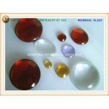 Gem/cristal boule en verre/verre perle boule/verre