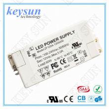Keysun 60W 12Vdc 0-5000mA AC DC Voltagem constante LED Alimentação do driver