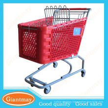 guangdong retail carts for sale commercial grocery supermarket shopping cart with chair