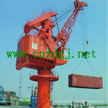 High Quality Slewing Double Jib Crane with Wire Rope