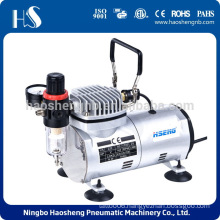Double voltage airbrush compressor AS18-3