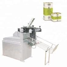 Semi-automatic Paint Pail Tin Can Making Machine