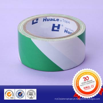 Fita de advertência adesiva do PVC da força para a aplicação de marcação