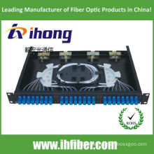 19 inch Rack mounted SC24 Port Fiber Optic patch panel