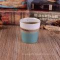 V Shape Votive Ceramic Candle Holder