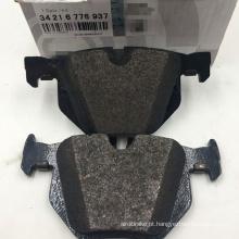 E70 F15 E71 Conjunto de pastilhas de freio traseiro de alta qualidade para BMW E70 X5 X6 Conjunto de pastilhas de freio traseiro 34216776937