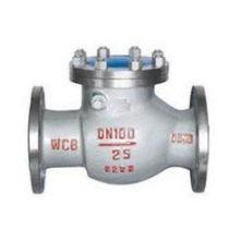 Válvula de retenção em aço inoxidável usada em óleo de vapor de água