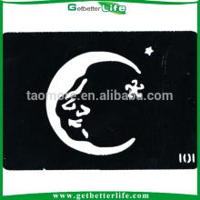 Papai Noel lua corpo tatuagem Stencils (11 * 8cm)
