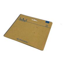 Бирка для поделок из крафт-бумаги