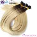 Wholesale Cuticle Aligned Double Drawn High Quality Virgin Hair Keratin Flat Tip Hair Extension