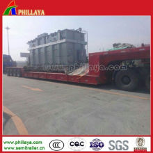 4 Line 8 Axle 150 Tons Low Loader Trailer