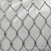 Zoo steel wire net fence stainless steel wire rope mesh net