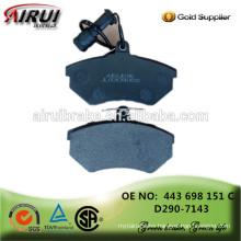 china brake pads factory, auto parts(OE: 443 698 151 C /D290-7143)