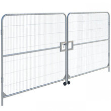 Cheap Galvnanized Canada Temporary Fence with Accessories Sale on Ebay