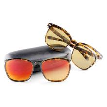 Модные солнцезащитные очки со съемными / съемными рамами и храмами