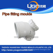 High quality good price plastic mould factory for standard size pipe fitting mould exporter in taizhou China