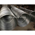 Galvanised Concertina Razor Wire Fence