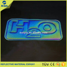 Etiqueta de TPU de ropa reflectante de alta visibilidad